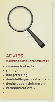 advies - marketing communicatiestrategie
